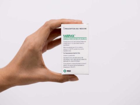 Thông tin về vắc xin thủy đậu Varivax (Mỹ)